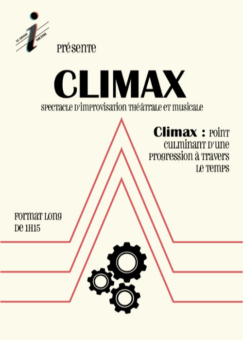 Affiche du spectacle Climax