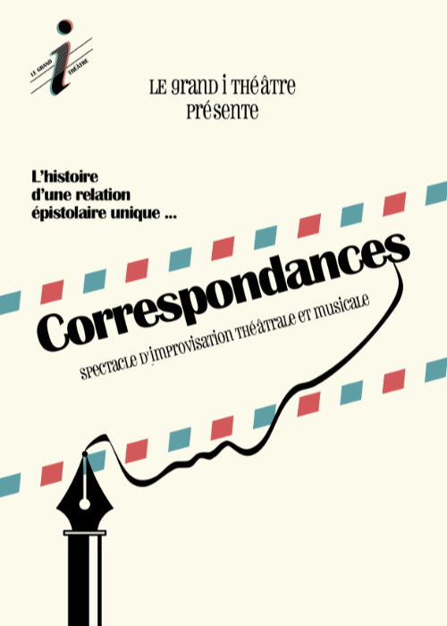 Affiche du spectacle Correspondances