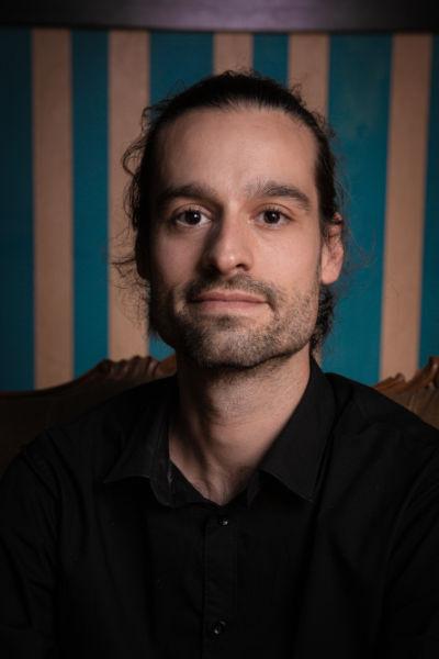 Sylvain Baurens, comédien au Grand i Théâtre